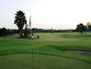 Golf: Preparativi per il torneo di Pitch & Putt
