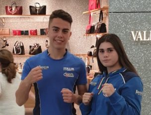 Gabriele Miceli e Carlotta Abbate pronti all'avventura in Romania per gli europei Junior