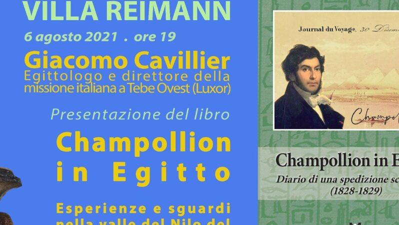 """""""Champollion in Egitto"""" di Giacomo Cavillier"""